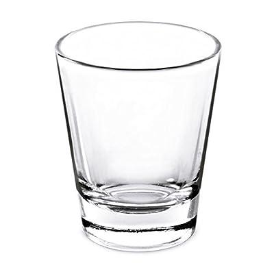 1.5 Oz Whiskey Shot Glass; (Set of 4) Shot Glasses