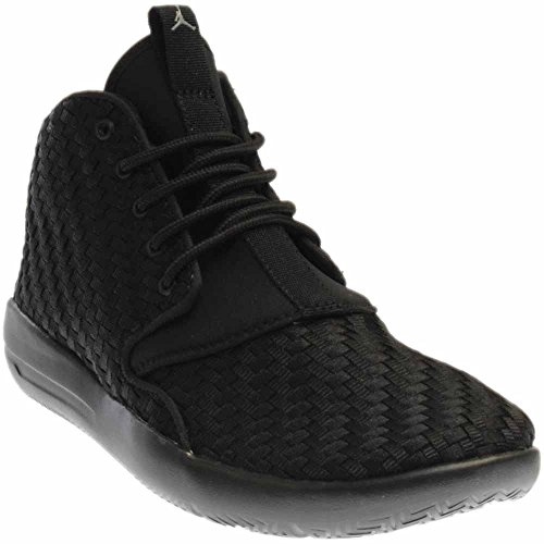 Jordan Nike Kids Eclipse Chukka Bg Black/Cool Grey Basketball Shoe 6.5 Kids US by NIKE
