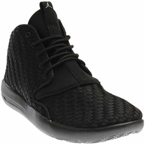 Jordan Nike Kids Eclipse Chukka BG Black/Cool Grey Basketball Shoe 5 Kids - Cool Jordans For Kids
