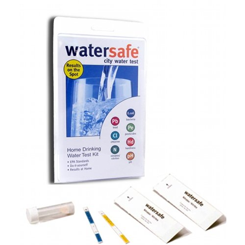 - Watersafe WS425B City Water Test Kit