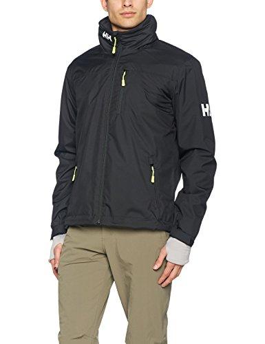 5509e9989 Helly Hansen Men's Crew Hooded Midlayer Jacket, Black,