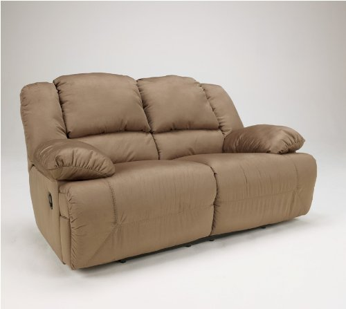 Loveseat Reclining Mocha (Mocha Reclining Loveseat - Signature Design by Ashley Furniture)