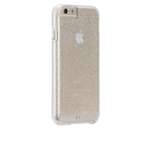 Case-Mate iPhone 6 Case - NAKED TOUGH - Sparkle Effect - Slim Protective Design for Apple iPhone 6 / iPhone 6s - Sheer Glam