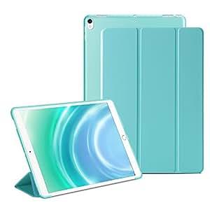 GVTECH iPad Mini 1 2 3 Smart Case Cover [Cuero Sintético] Soft Back Funda Magnética con Función de Apagado/Función de Encendido [Ultra Slim] [Ligero] para iPad Mini 1/2/3 (Azul)