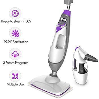 Amazon Com Bissell 1940 Powerfresh Steam Mop Hard Floor
