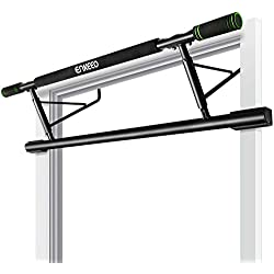 ENKEEO Doorway Pull-Up Bar Fitness Chin-Up Frame for Home Gym Exercise, no Installation Needed (Load up to 440 lbs / 200kg)