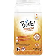 Amazon Brand - Presto! Laundry Detergent Pacs, Fresh Scent, 81 Count