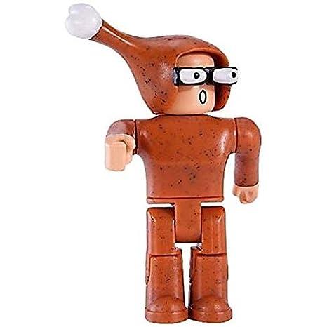 Amazoncom Roblox Series 1 Chicken Man Action Figure Mystery Box
