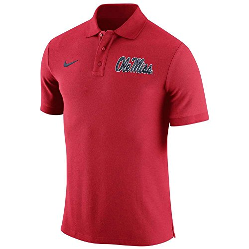Ole Miss Polo Shirts (Mississippi Ole Miss Rebels Stadium Pique Polo - Men - XL)