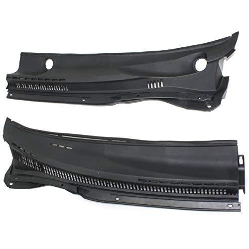 New Wiper Cowl Grille Driver & Passenger Side LH RH TO1271109 5570802180 ()
