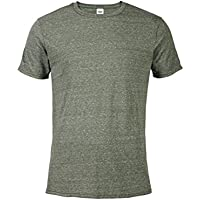 [Sponsored] Casual Garb Men's Snow Heather Fitted T Shirt Short Sleeve Crew Neck T-Shirts for Men