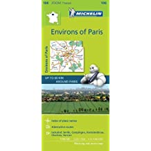Michelin Environs of Paris Zoom Map 106 (Michelin Zoom Maps)