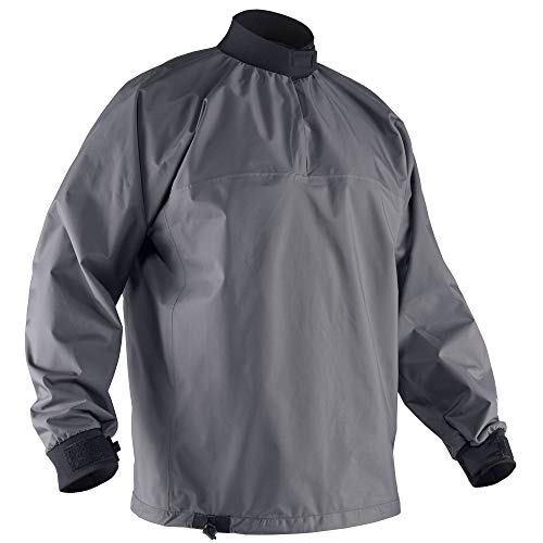 Splash Proof Jacket - NRS Lago Paddling Jacket-Gunmetal-XXL
