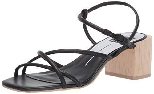 - Dolce Vita Women's Zayla Heeled Sandal, Black Leather, 9 M US