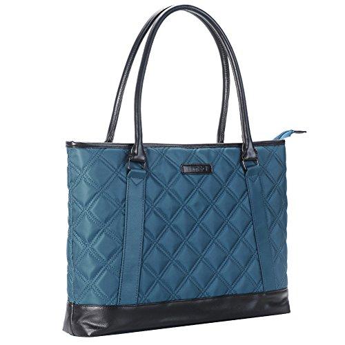 laptop-tote-bag-dtbg-156-inch-nylon-classic-diamond-pattern-travel-business-computer-shoulder-bag-ca