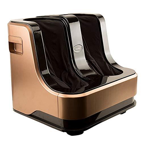 Lifelong LLM99 Foot, Calf and Leg Massager,(With Heat and Vibration), 80W, 4 Motors, Dark Brown