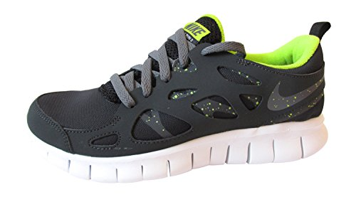 Nike Nike Free Run 2 Gs - Zapatos  para hombre black/dark grey-anthracite-force green 093