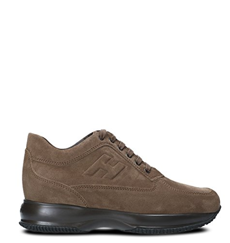 Hxm00n09042hg0s413 Brown Leather Sneakers Men's Hogan xZYqvRww