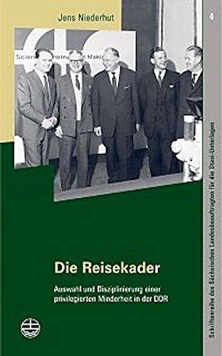 Die Reisekader Taschenbuch – 14. November 2005 Jens Niederhut Evangelische Verlagsanstalt 3374023398 MAK_new_usd__9783374023394