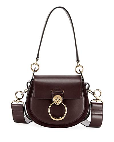 a232265d654d Chloe Tess Small Leather/Suede Camera Crossbody Bag made in Italy: Handbags:  Amazon.com