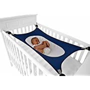 Crescent Womb Infant Safety Bed - Breathable & Strong Material That Mimics The Womb While Reducing The Environmental Risks Associated With Early Infancy, Sky