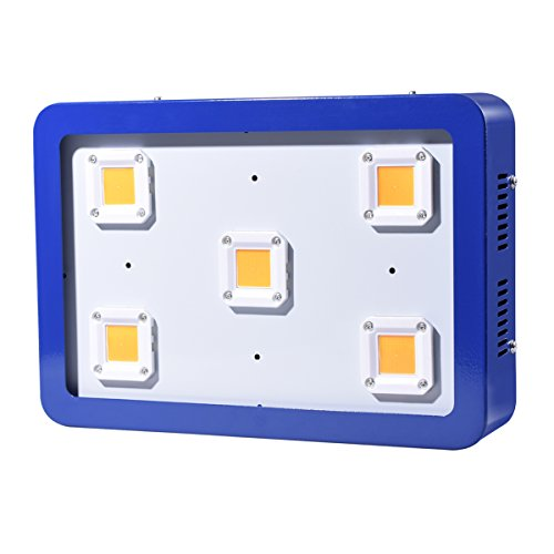 X5 COB 1500W LED Grow Light,Sunshine Full Spectrum Grow Light for Greenhouse and Indoor Plant Flowering Growing (Blue)