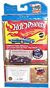 Hot Wheels - Twin Mill Collector's Edition (Metalflake Purple) - 30th Anniversary Collection - 1969 Authentic Commemorative Replica w/Certificate and Pin