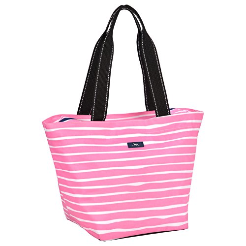 SCOUT Daytripper Everyday Tote Bag, Shoulder Bag, Water Resistant, Wipes Clean, Zips Closed, Picasso Pink