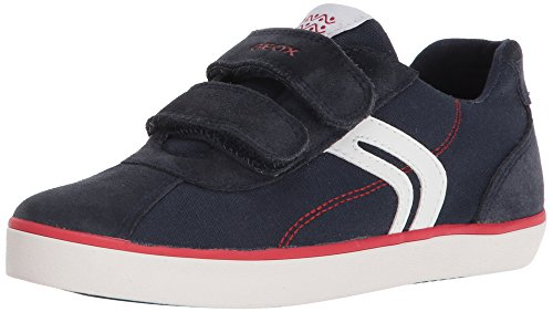 Geox Boys' Kilwi 12 Sneaker, Navy/Red, 29 M EU Little Kid (11 US)