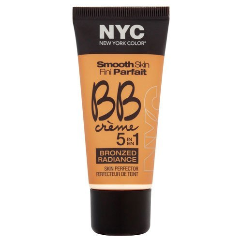 N.Y.C. BB Creme Foundation Bronze, Light, 1 Fluid Ounce by N.Y.C.