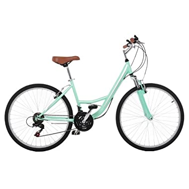 Vilano Women's C1 Comfort Shimano Road Bike, 14-Inch/Small, Green