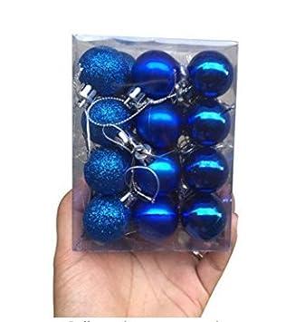 Christbaumkugeln Plastik.A Goo 24 Stück Schicke Und Schöne Weihnachtskugel Anhänger Mit