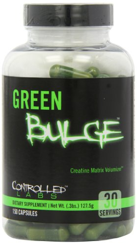 Controlled Labs Green Bulge, Advanced Creatine Volumizer, 150-Count Bottle