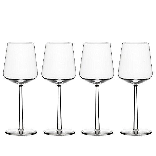 Iittala Essence Red Wine Glasses, Set of 4, Clear (ES112059)