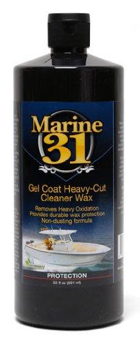 Marine 31 Gel Coat Heavy-Cut Cleaner Wax 32 oz. - Heavy Wax