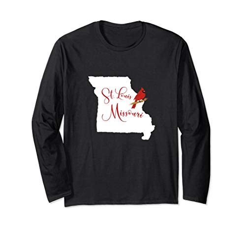 GGT | Trendy St. Louis Missouri Red Cardinal Long - Louis Cardinals Long Sleeve