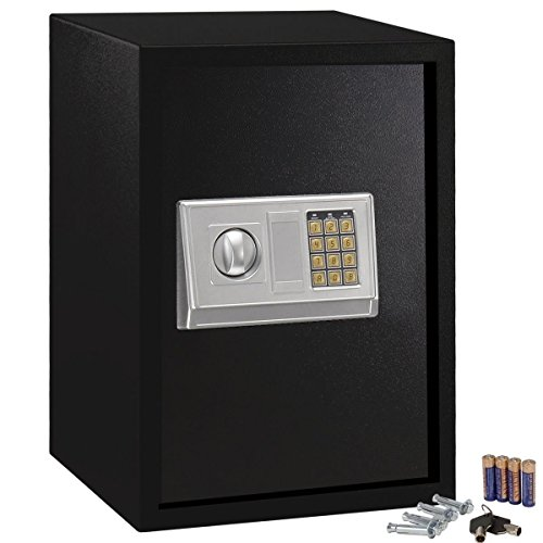 Fireproof Home Safe Documents Jewelry Cash Storage Gun Office Money Electronic Digital Security