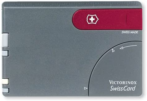 SwissCard – Dark Gray