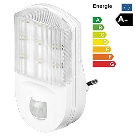 LED de luz [para luz de escaleras, de emergencia] con sensor de movimiento
