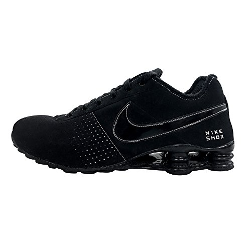 NIKE Mens Air Shox Deliver Sneakers New, Black/White 317547-021 sz 11