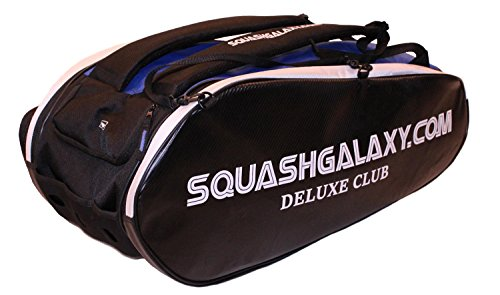 Python Racquetball Squash Galaxy Deluxe Club Squash Bag (Ultimate Value)