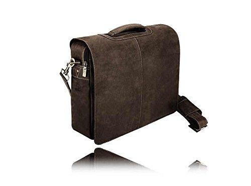 Visconti Stylish Quality 18760 Messenger Bag / Computer Laptop Handbag / Leather Bag by Visconti