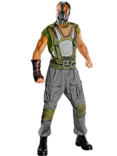 Batman The Dark Knight Rises Adult Deluxe Bane Costume, Multi-Colored, Medium -