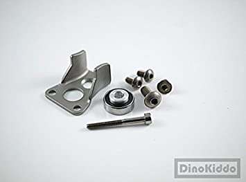 Dino Kiddo Novo® - Juego completo de empujadores de cadena de titanio para bicicleta plegable