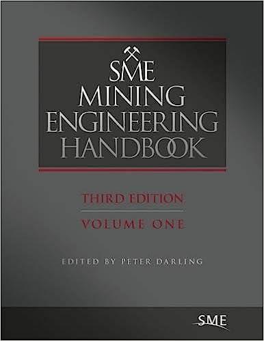 Sme Mining Engineering Handbook Cd: 1-2 por Peter Darling epub
