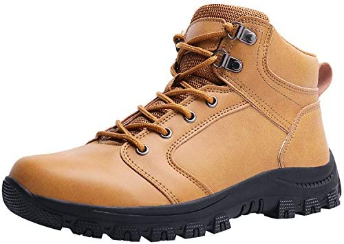 Caitin Men s Insulated Cold-Weather Boots Durable Hiking Boots
