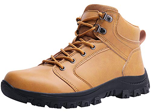 Fashion Weather Boots Cold - Caitin Men's Insulated Cold-Weather Boots Durable Hiking Snow Boots