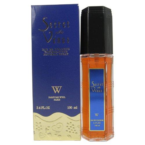 Secret De Venus By Weil Paris For Women. New Formula, Eau De Cologne Spray 3.4 Ounces (Cologne Eau Formula De)
