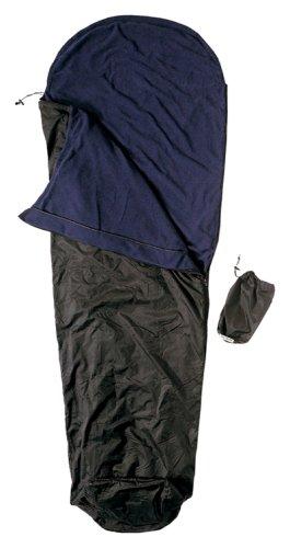 Cocoon Ripstop Micro-Fleece Sleeping Bag (Black, 86-Inch x 24-Inch), Outdoor Stuffs