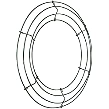 "Panacea 36003 Wire Wreath Frame 12""-Green"